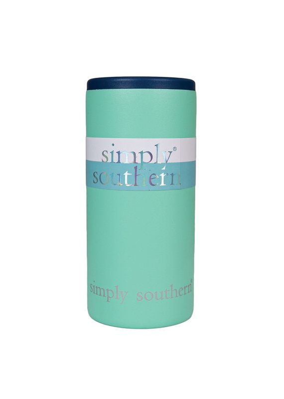 ****Simply Southern Can Cooler Sea