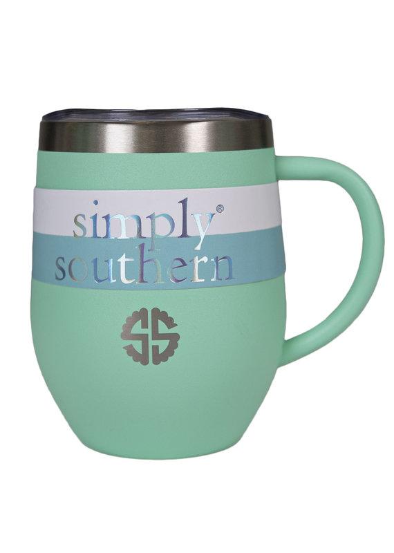 ****Simply Southern Tumbler Mug Sea