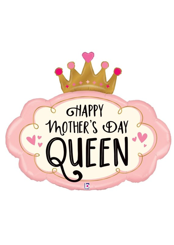 "****Mother's Day Crown 30"" Mylar Balloon"