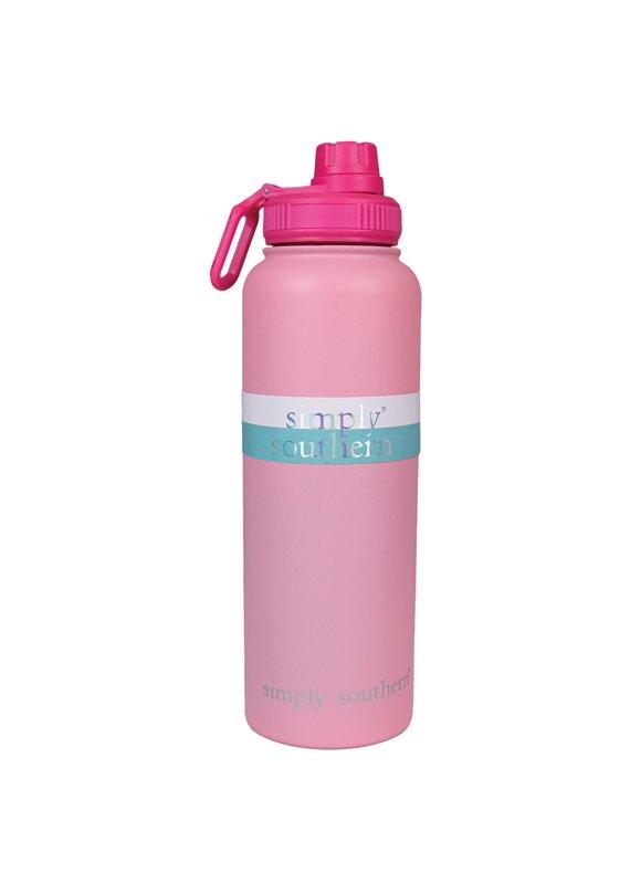 ****Simply Southern Water Bottle 40oz Blush