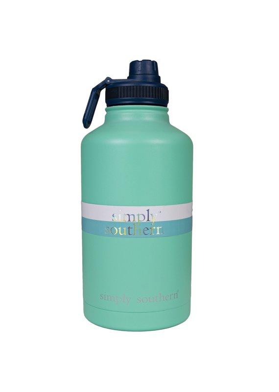 ****Simply Southern Water Bottle 64oz Sea