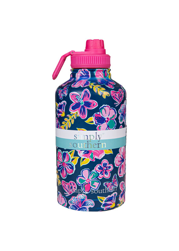 ****Simply Southern Water Bottle 64oz Butterfly