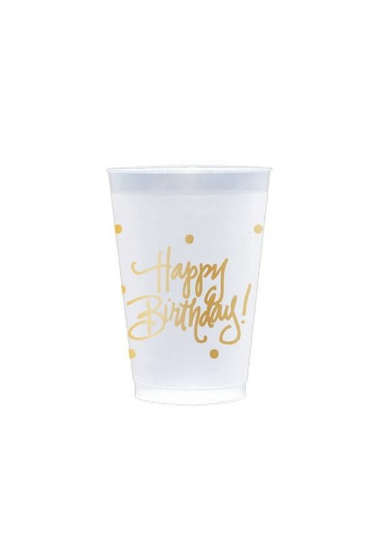 Natalie Chang ****Frost Flex Cups - Happy Birthday!