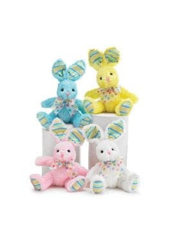 ****Easter Bunny Dots and Stripes Plush