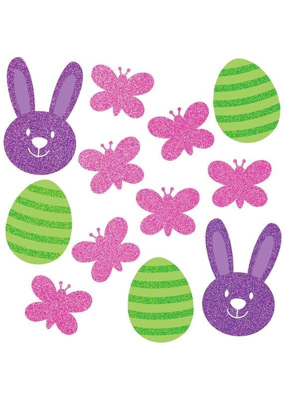 ****Easter Glitter Icon Large Confetti 12ct