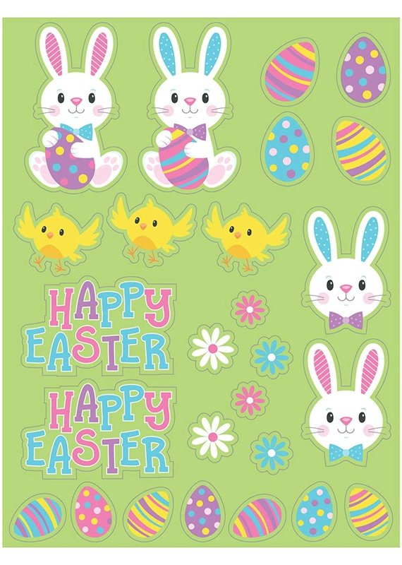 ****Easter Character Stickers 4 Sheets