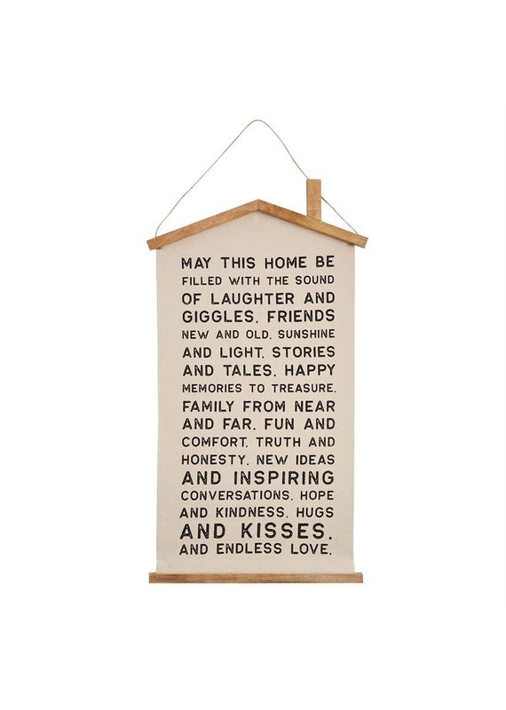 ****House Long Canvas Hanger