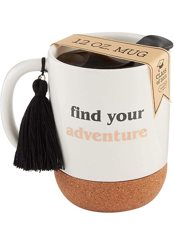 ****Find Adventure Graduation Travel Mug
