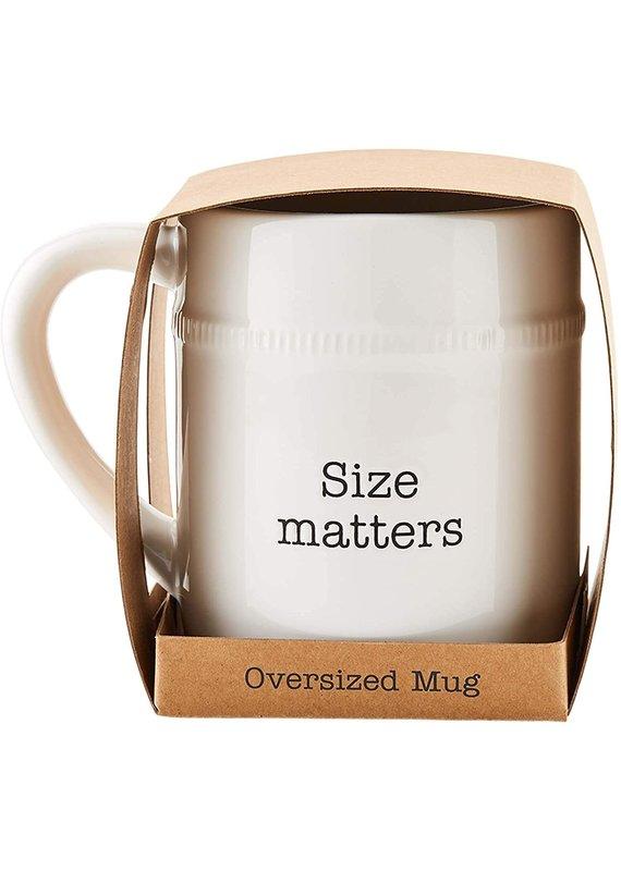 ****Size Matters Oversized Mug