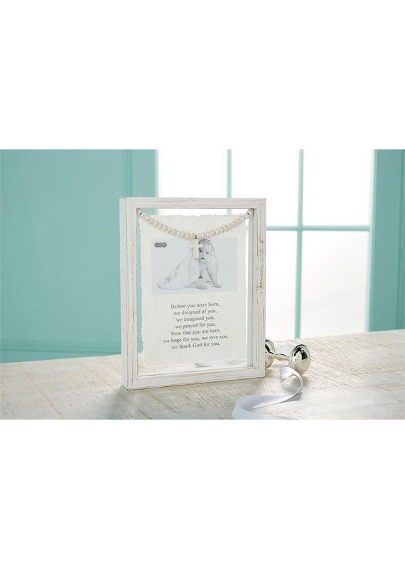 ****Baby Prayer Glass Frame