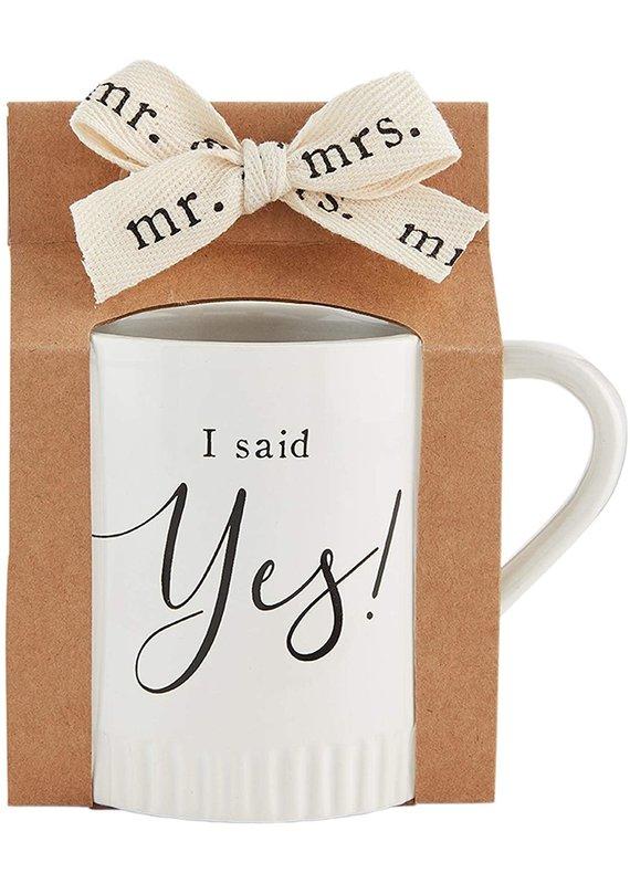 ****Said Yes Engaged Mug