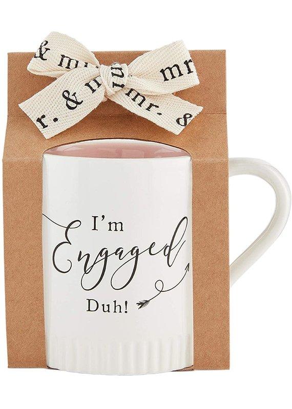 ****I'm Engaged Duh! Engaged Mug