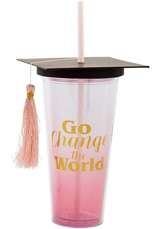 ****Go Change Tumbler Graduation Gift