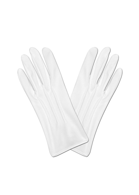 *****White Theatrical Gloves Deluxe