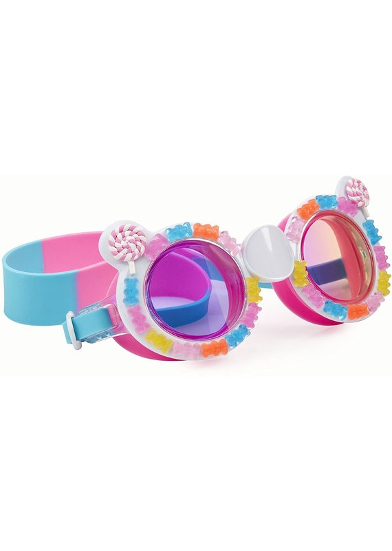 Bling2O *****Cotton Candy Pink Blue Gummy Swim Goggles