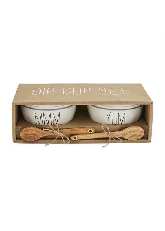 ****Bistro Boxed Dip Cup Set