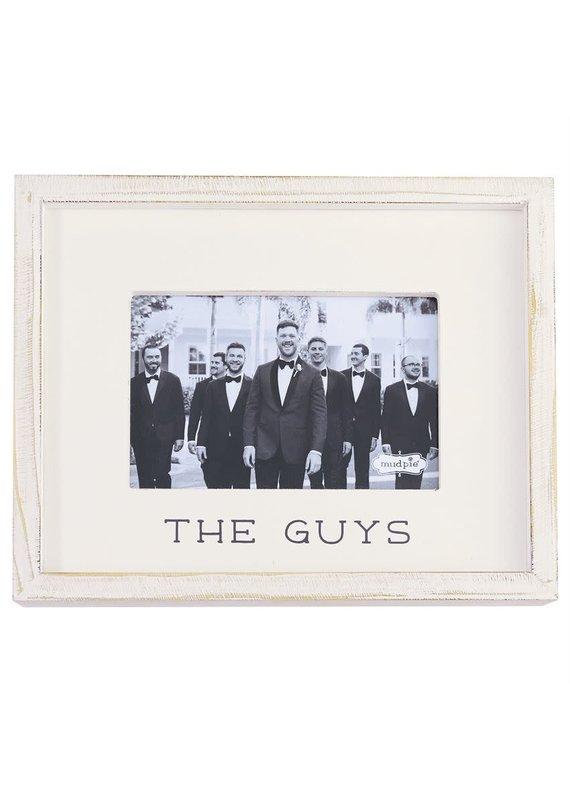 ****The Guys Wedding Photo Frame