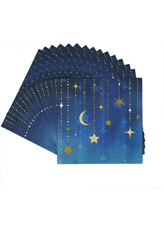****Starry Night Lunch Napkins