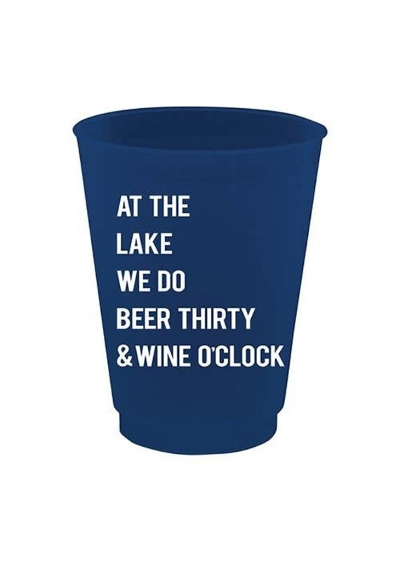 ***At the Lake 16oz  Drinking Cups 8ct.