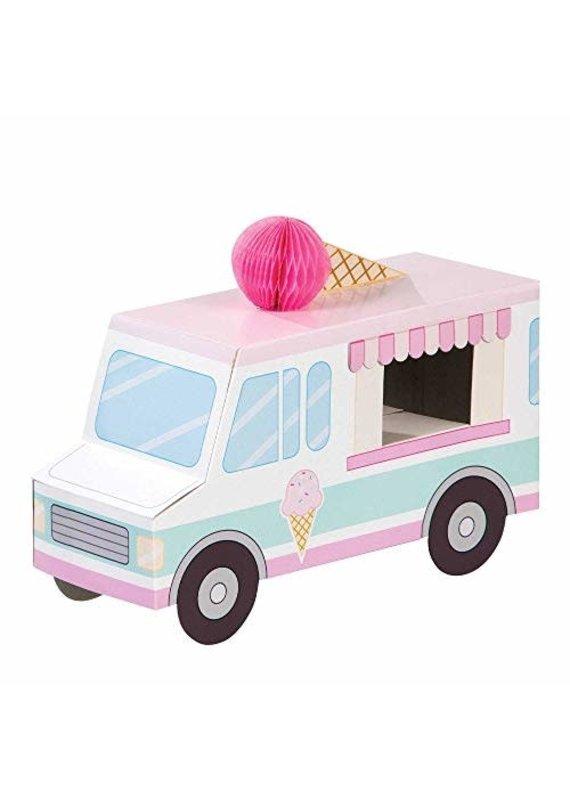 *****Ice Cream  Truck Party 3D Centerpiece