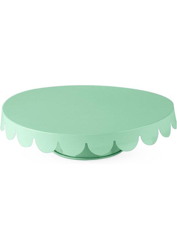 Cakewalk ****Green Melamine Cake Stand