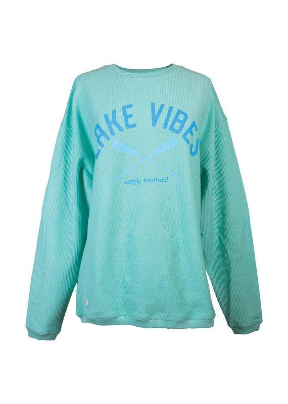 Simply Southern Lake Vibes Crew Light Sweatshirt