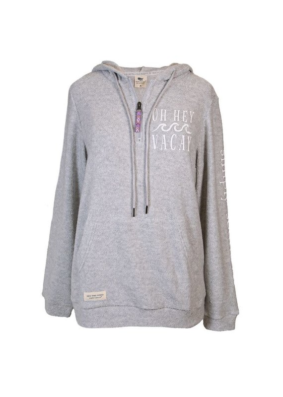 ****Simply Southern Terry Hoodie Vacay