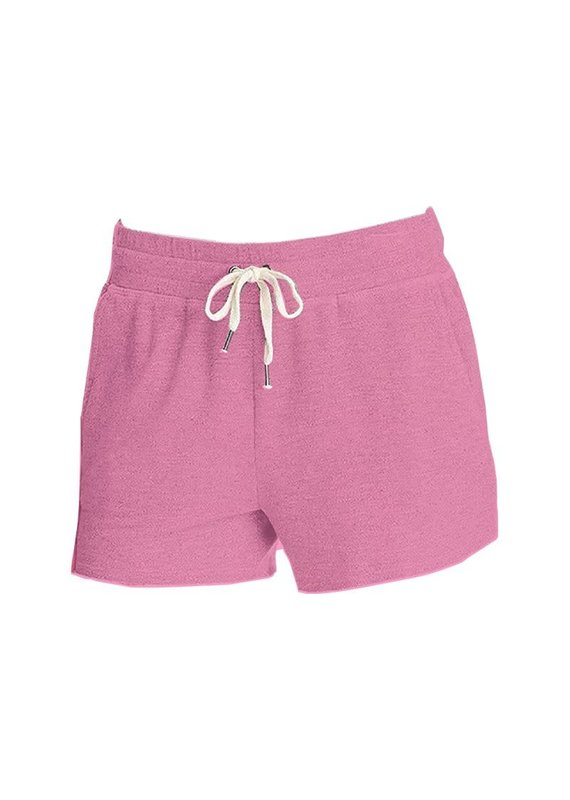 ****Simply Southern Terry Cloth Shorts Pink