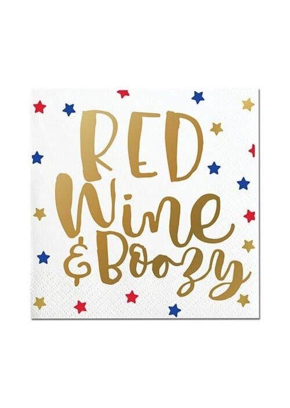 ****Red Wine & Boozy Beverage Napkins