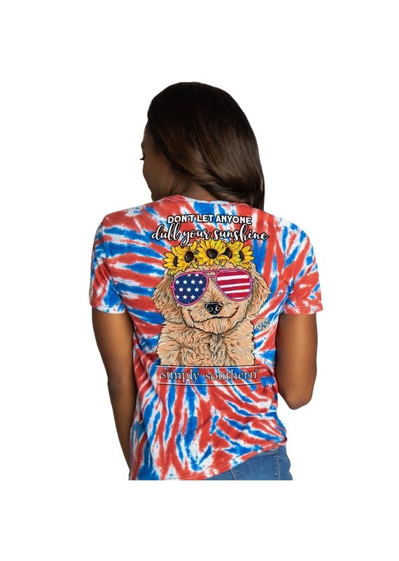 ****Simply Southern Short Sleeve Dull USA