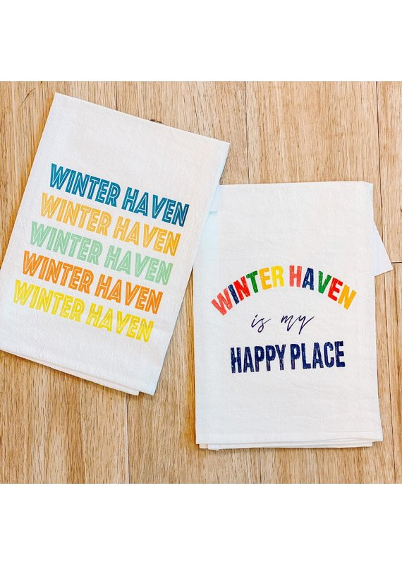 Aspen Lane *****Winter Haven Repeated Tea Towel
