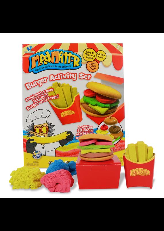 Mad Mattr ****Burger Activity Set Mad Mattr
