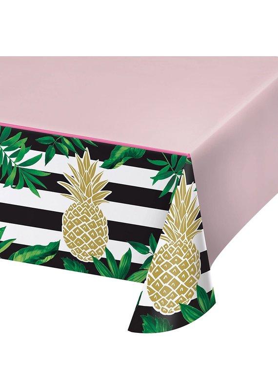 ****Pineapple Wedding Plastic Tablecover