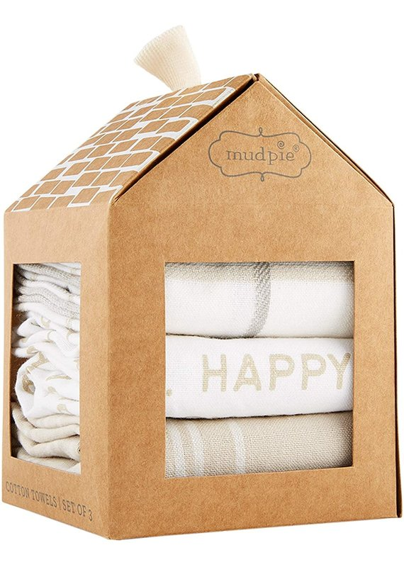 ****Happy Place Towel Set