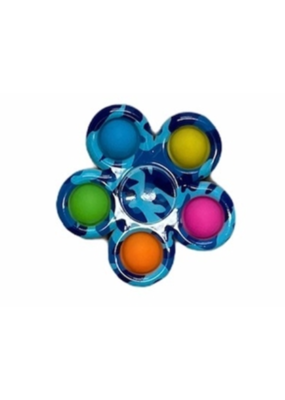 Confetti & Friends ****Camo Fidget Snap Spinner