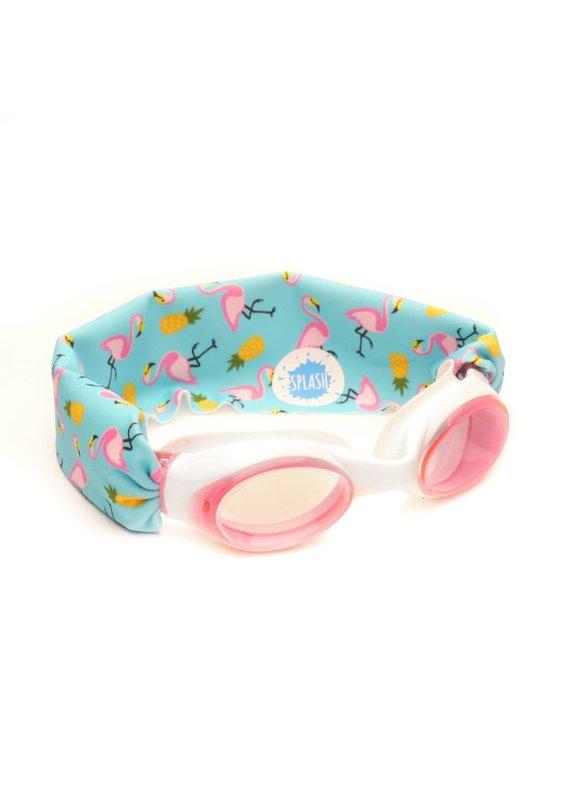 Splash Swim Goggles ****Flamingo Island Splash Swim Goggles