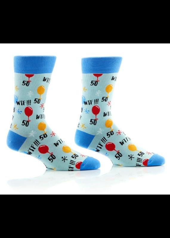 YOSOX ****50! WTF Men's Socks