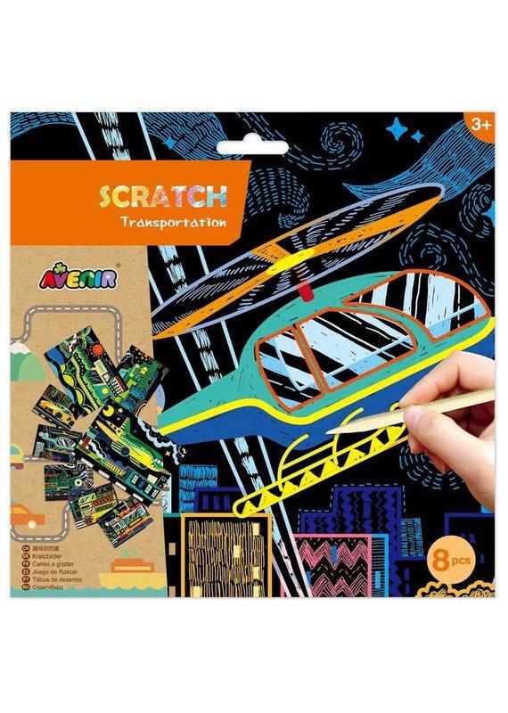 DAM ****Scratch Art Transportation