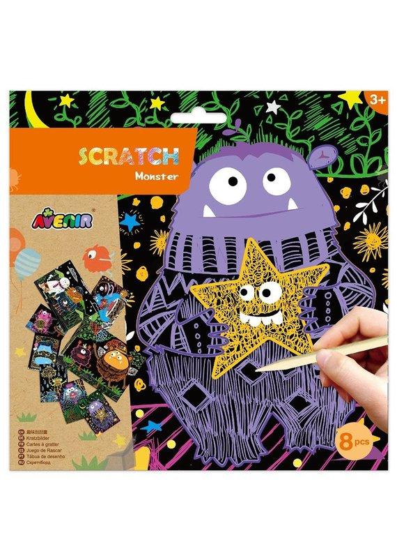 DAM ****Scratch Art Monster