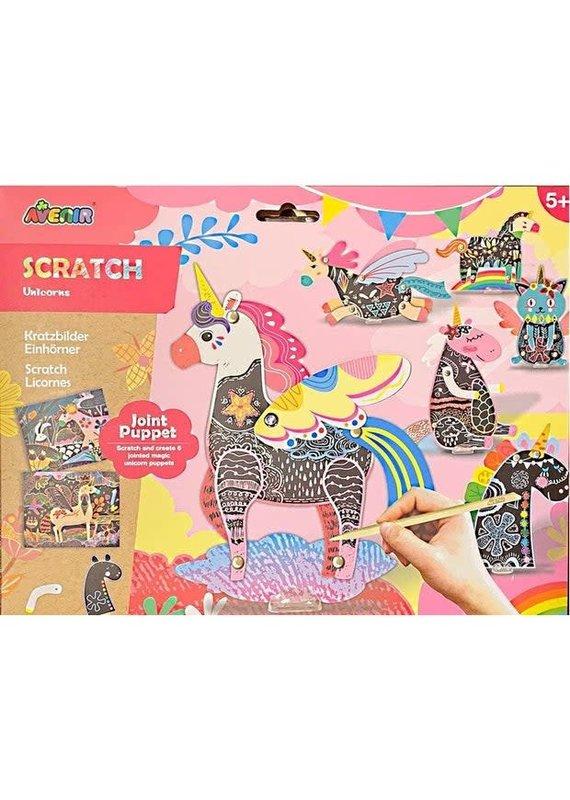 DAM ****Scratch Jointed Puppet Unicorn