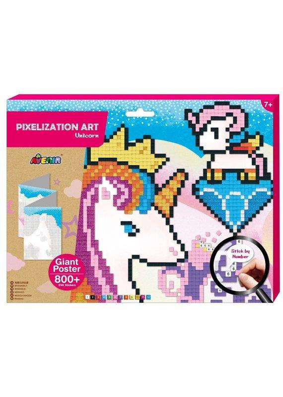 DAM ****Pixelation Art Unicorn