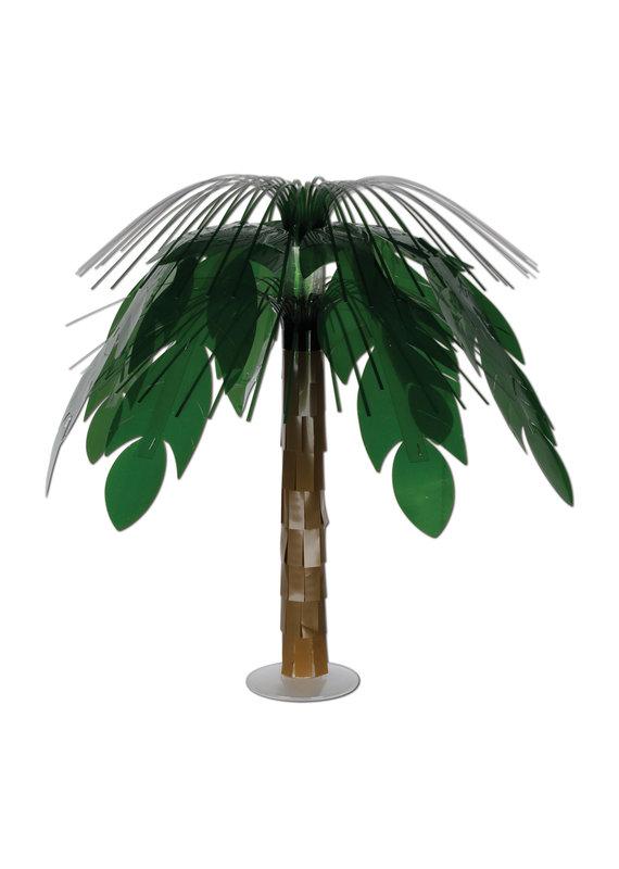 "****Jungle Palm Cascade 18"" Centerpiece"