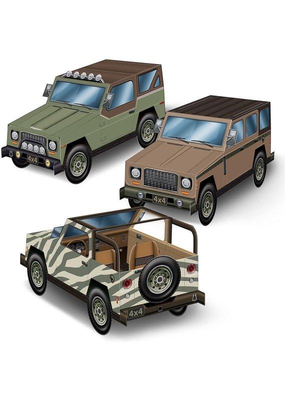 ****SUV Vehicle 3D Centerpieces 3ct