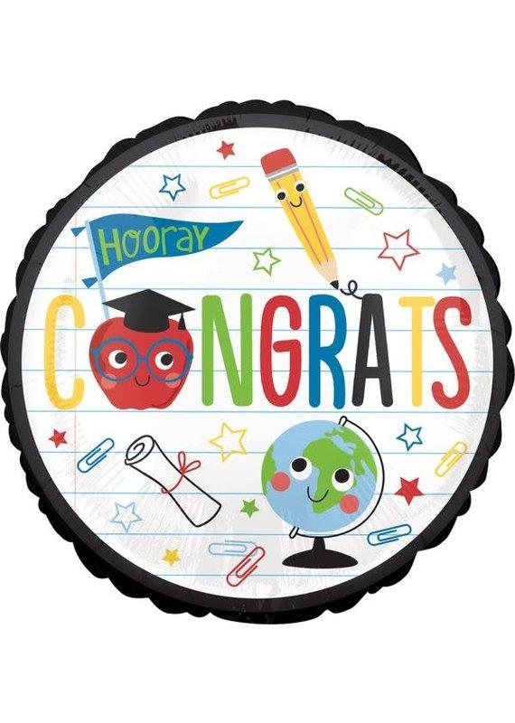 """****Future Dreams Congrats 18"""" Mylar Balloon"""