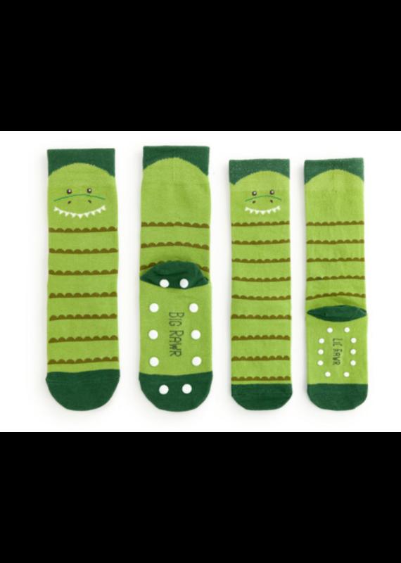 ****You and Me Sock Gift Set Dinosaur