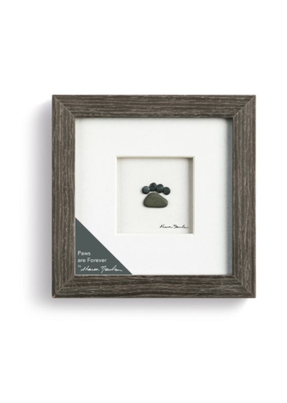 """*****Paws Are Forever Pebble Wall Art (8""""x10"""")"""