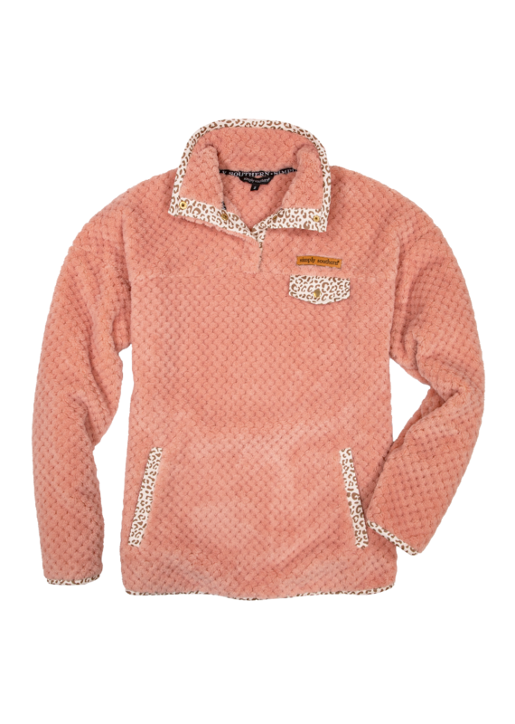 ****Simply Southern Soft Pullover Pink Youth