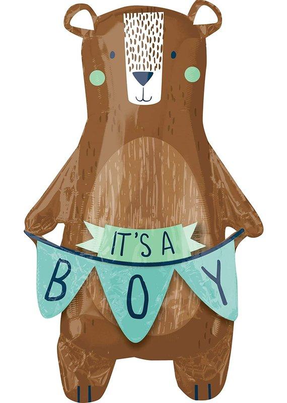 *****It's a Boy Bear Supershape Mylar Balloon