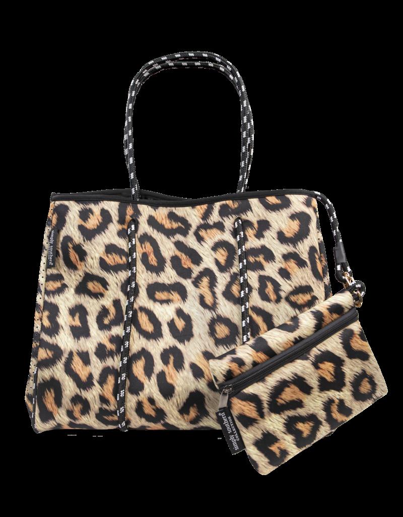 *****Simply Southern Neoprene Leopard Bag