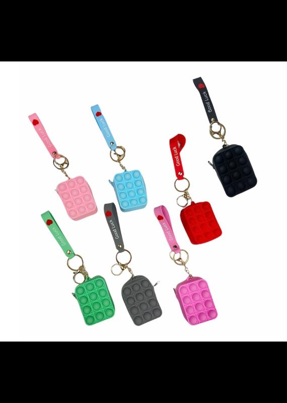 Confetti & Friends ****Crazy Snaps Keychain Coin Purse Fidget Toy
